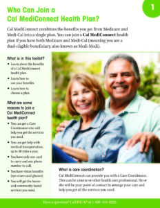 Cal MediConnect Beneficiary Toolkit